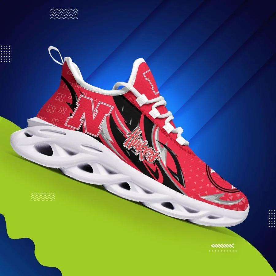 Nebraska Cornhuskers Clunky Max Soul Shoes - BBS
