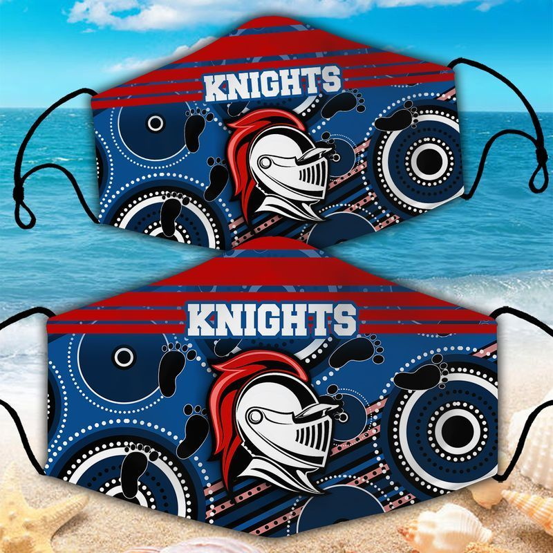 Newcastle Knights NRL face mask