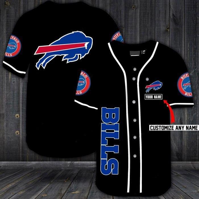 Nfl buffalo bills custom name baseball jersey shirt - LIMITED EDITION
