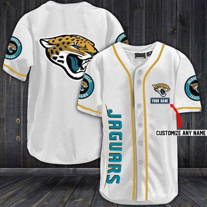 Nfl jacksonville jaguars baseball jersey shirt - LIMITED EDITION