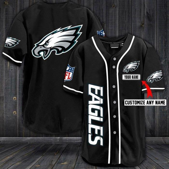Nfl philadenphia eagles custom name baseball jersey shirt - LIMITED EDITION