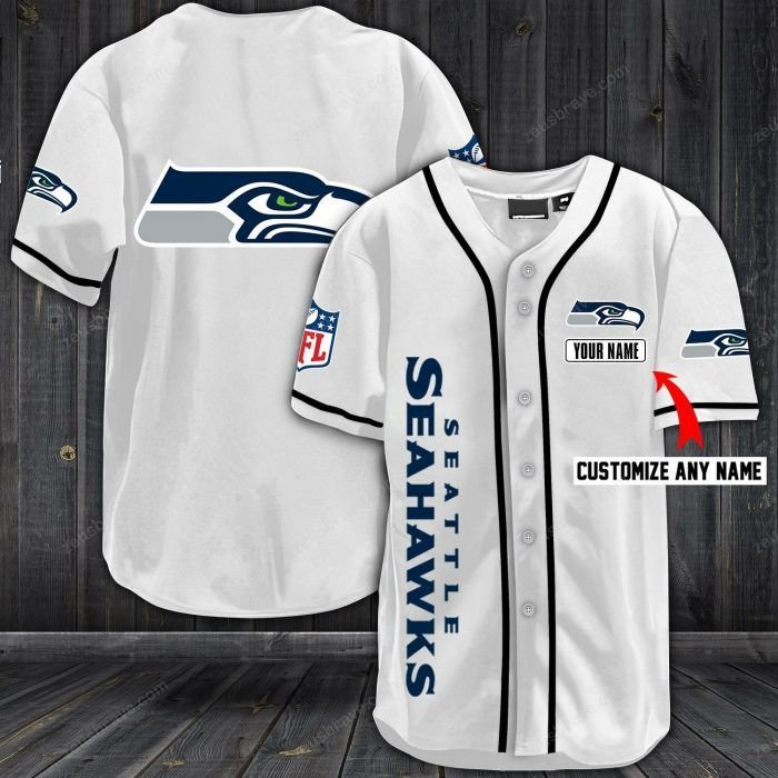 Nfl seattle seahawks baseball jersey shirt - LIMITED EDITION