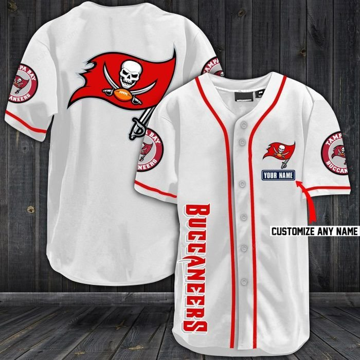 Nfl tampa bay buccaneers baseball jersey shirt - LIMITED EDITION