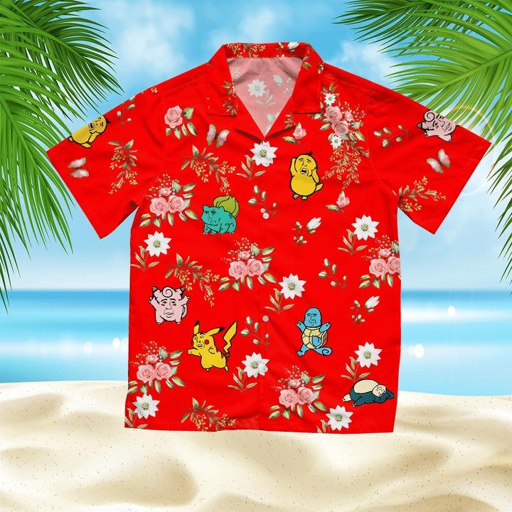 Nicolas Pokecage Hawaii Shirt - BBS