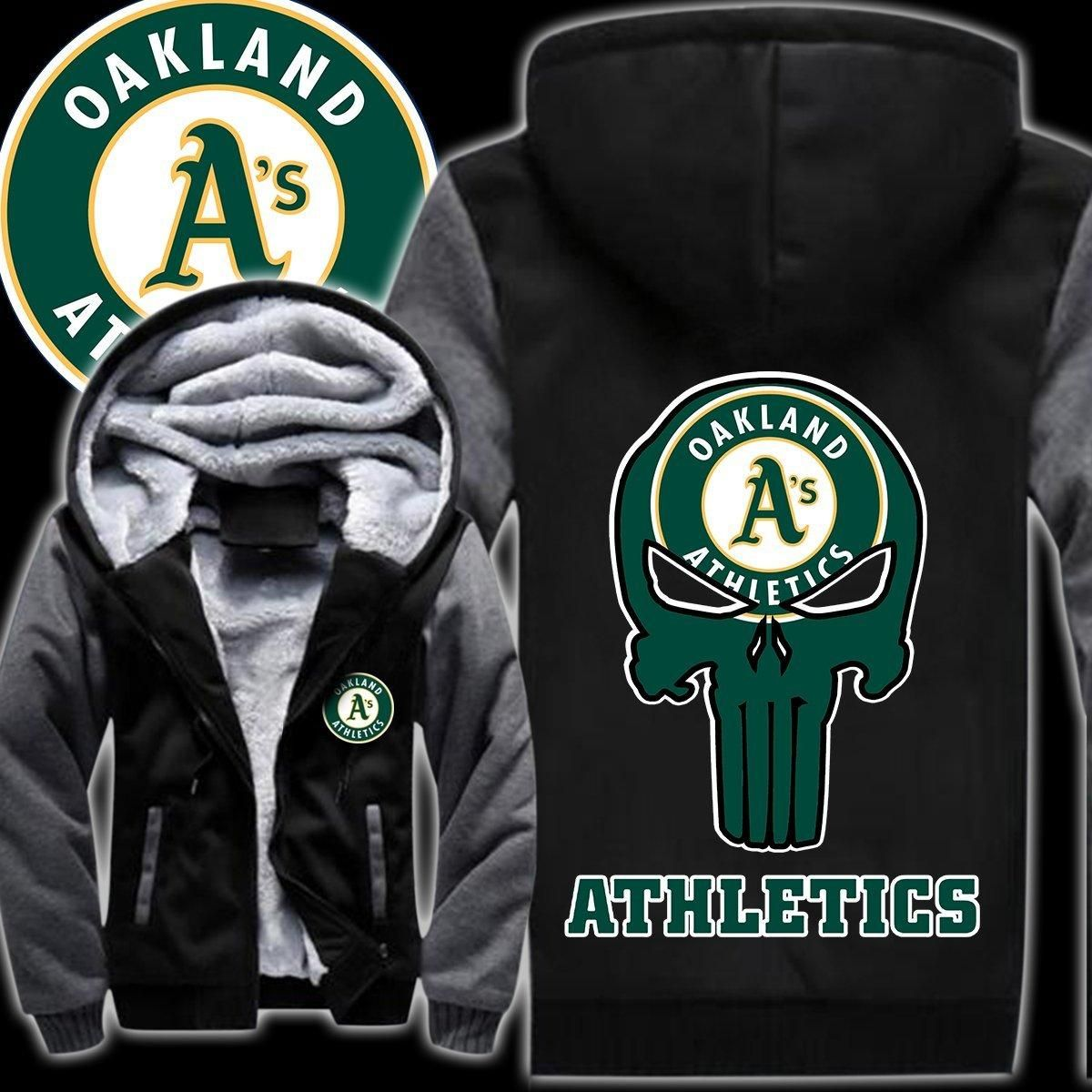 Oakland athletics 3d all over print hoodie - LIMITED EDITION