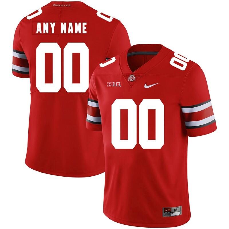 Ohio State Buckeyes Custom Name and Number NCAA
