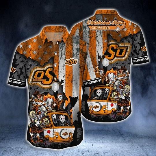 Oklahoma State Cowboys Summer Hawaiian Shirt  -BBS