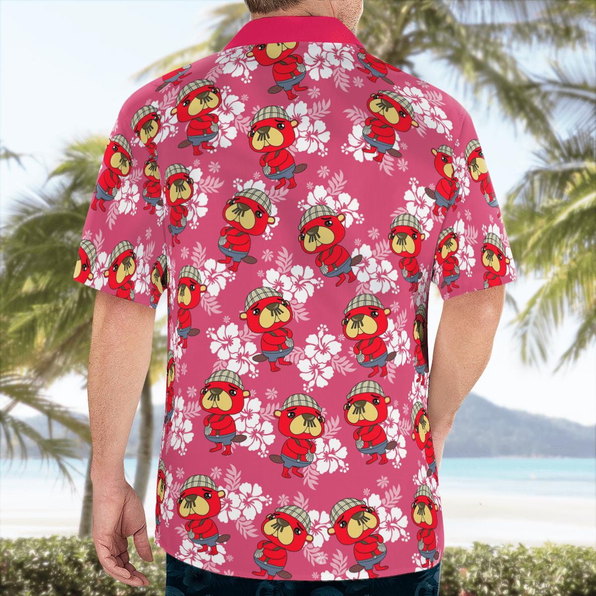 Pascal Scallop Hawaiian shirt - LIMITED EDITION