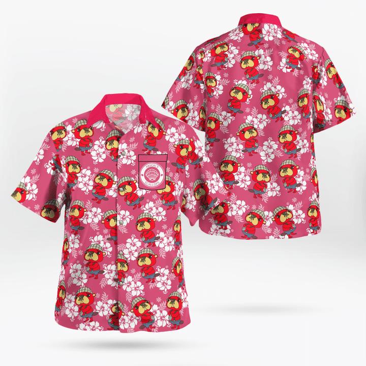 Pascal hawaiian shirt