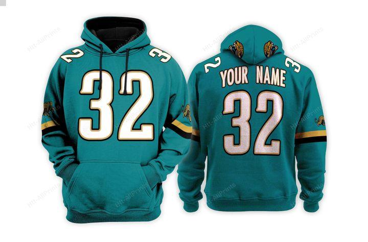 Personalized Jacksonville jaguars custom 3d hoodie - LIMITED EDITION