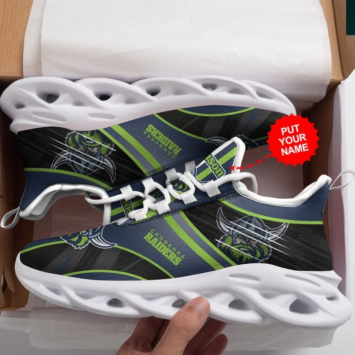 Personalized Name Canberra Raider NRL Clunky Max Soul Sneaker - Hothot 070921