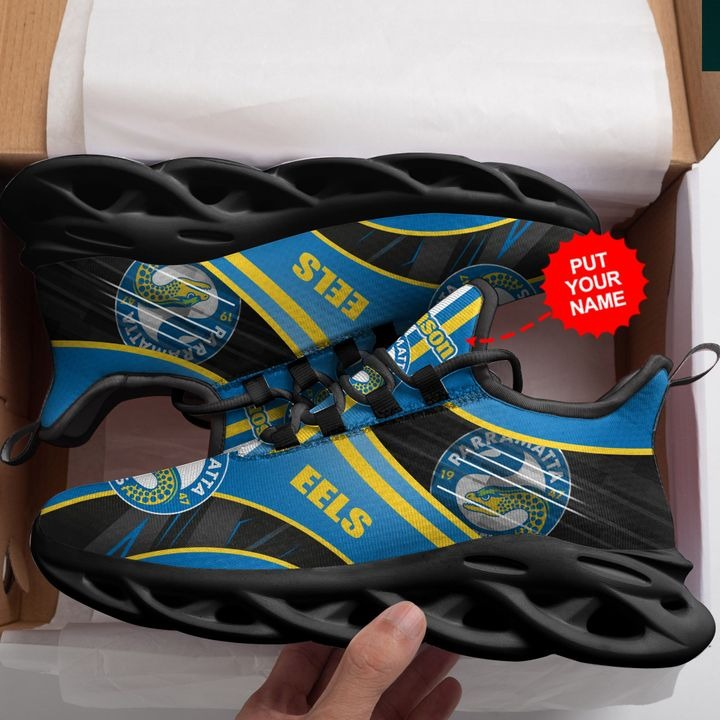Personalized Name Parramatta Eels Clunky Max Soul Sneaker - Hothot 070921