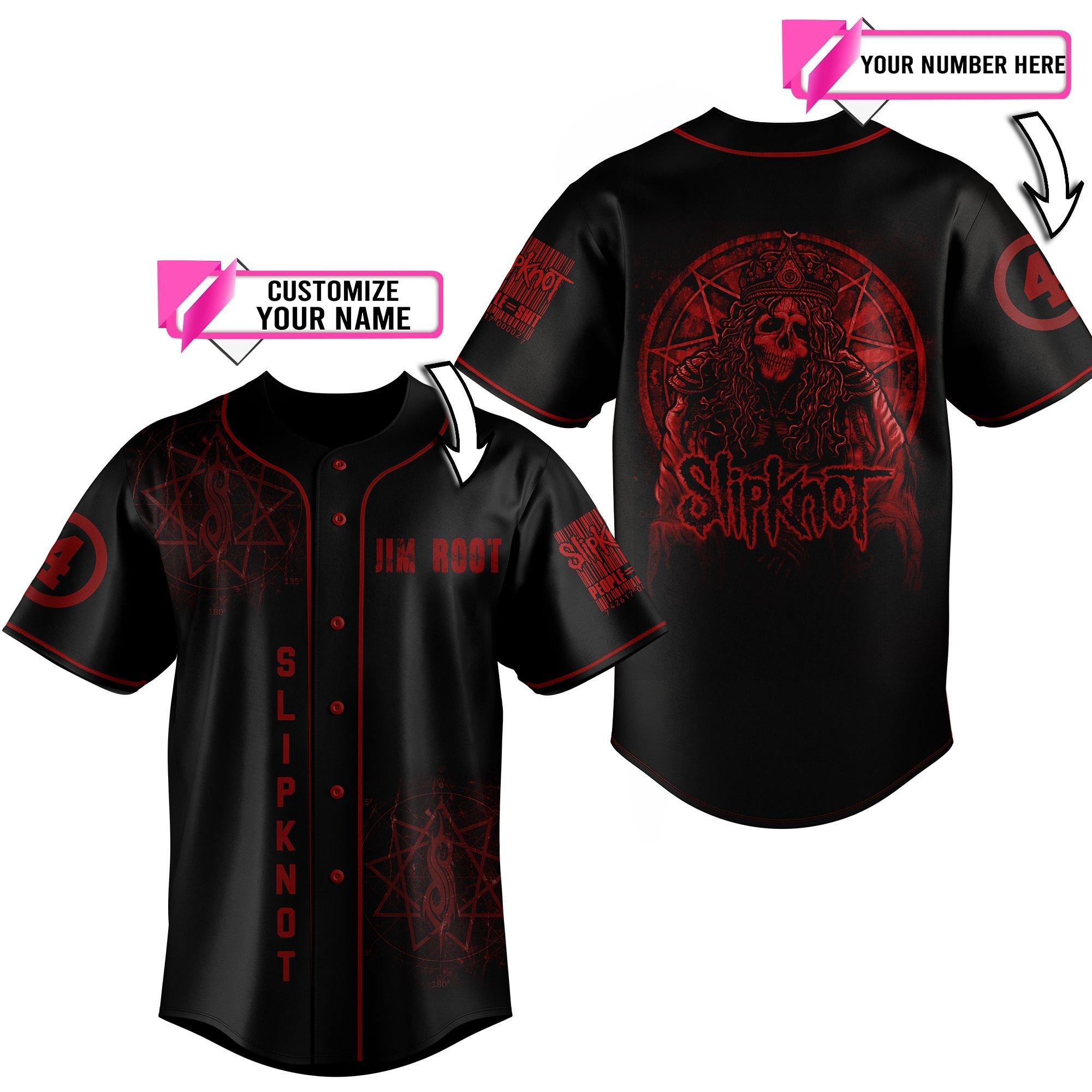 Personalized name Snipknot baseball jersey shirt