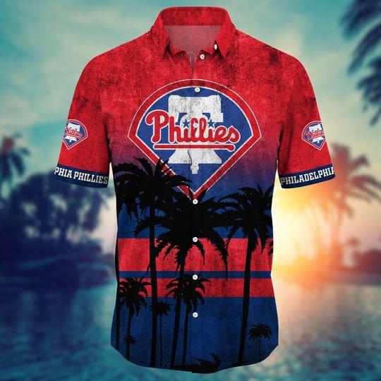 Philadelphia Phillies MLB Summer Hawaiian Shirt, short -BBS