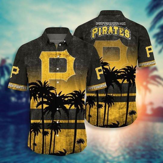 Pittsburgh Pirates Hawaiian Shirt -BBS