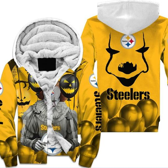 Pittsburgh ste pennywise the dancing clown it halloween 3d all over print hoodie4