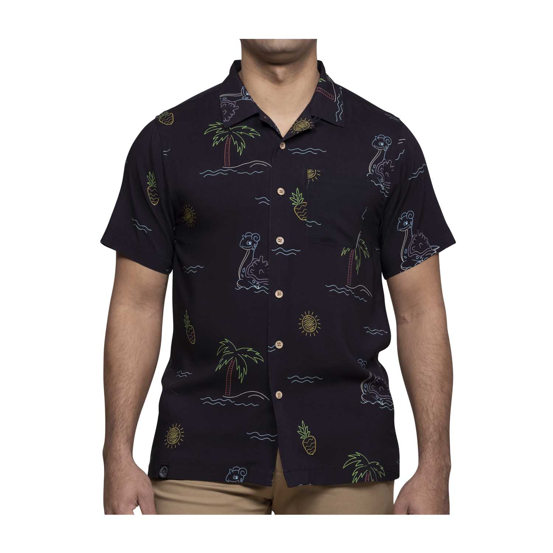 Pokémon Tropical Lapras Neon hawaiian shirt
