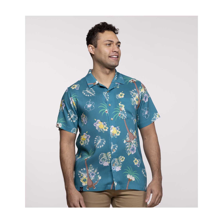 Pokémon tropical alolan exeggutor & friends hawaiian shirt - LIMITED EDITION