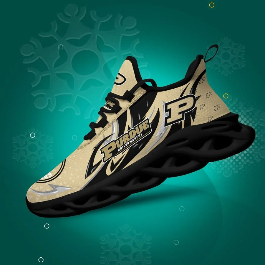 Purdue Boilermakers Clunky Max Soul Shoes - BBS