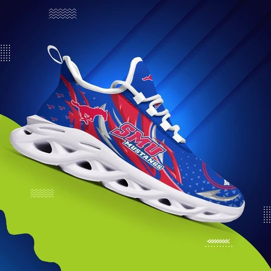 SMU Mustangs clunky max soul shoes - LIMITED EDITION