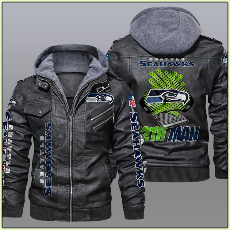 Seattle Seahawks 12th Man Leather Jacket - LIMITED EDITION