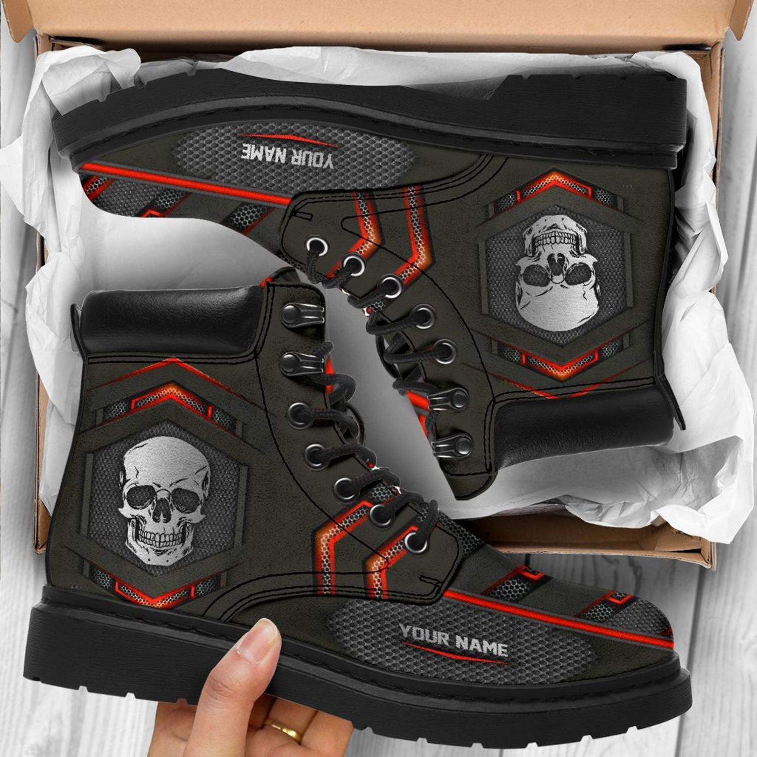 Skull custom name Timberland Boot - LIMITED EDITION