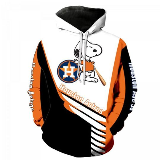 Snoopy Houston astros 3d all over print hoodie3