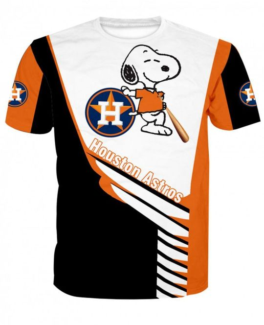 Snoopy Houston astros 3d all over print hoodie - LIMITED EDITION