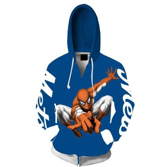 Spiderman New york mets 3d all over print hoodie2