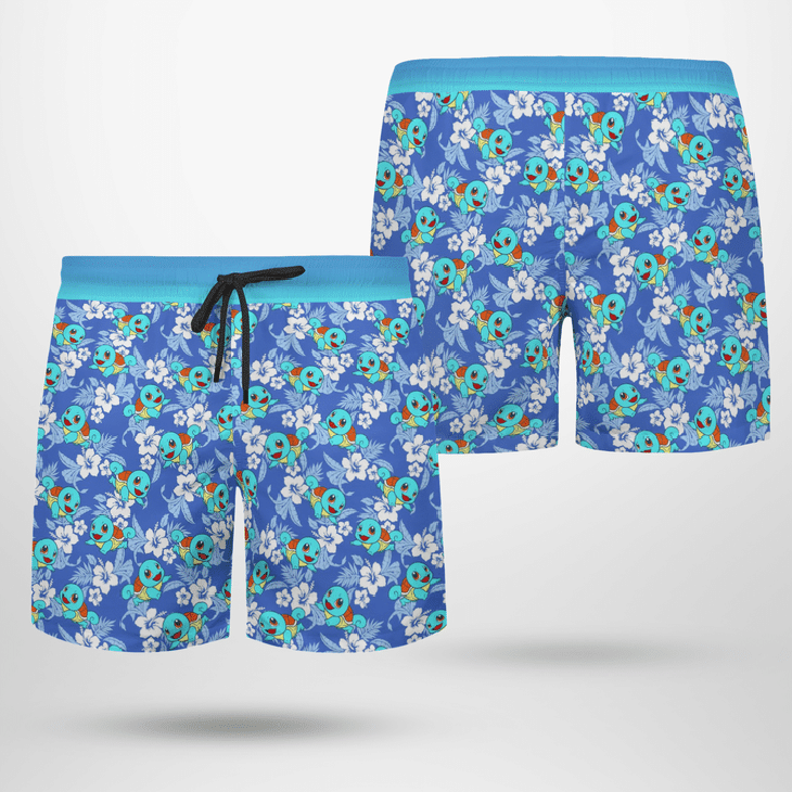 Squirtle tropical hawaiian shirt - LIMITED EDITION