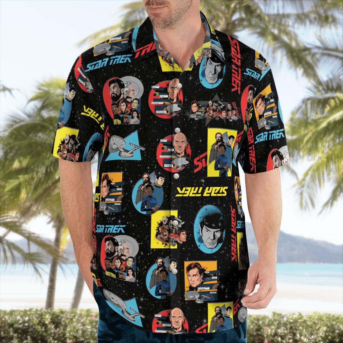 Star Trek Characters Hawaiian shirt - LIMITED EDITION