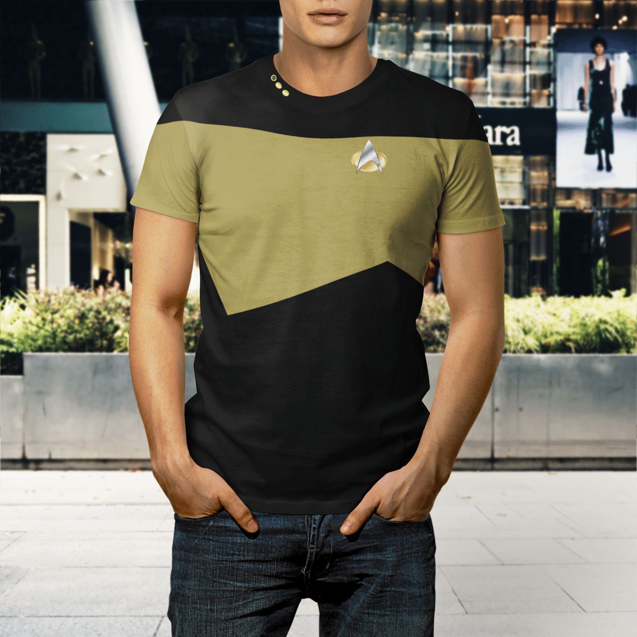 Star Trek Chief engineer 3d shirt - LIMITED EDITION