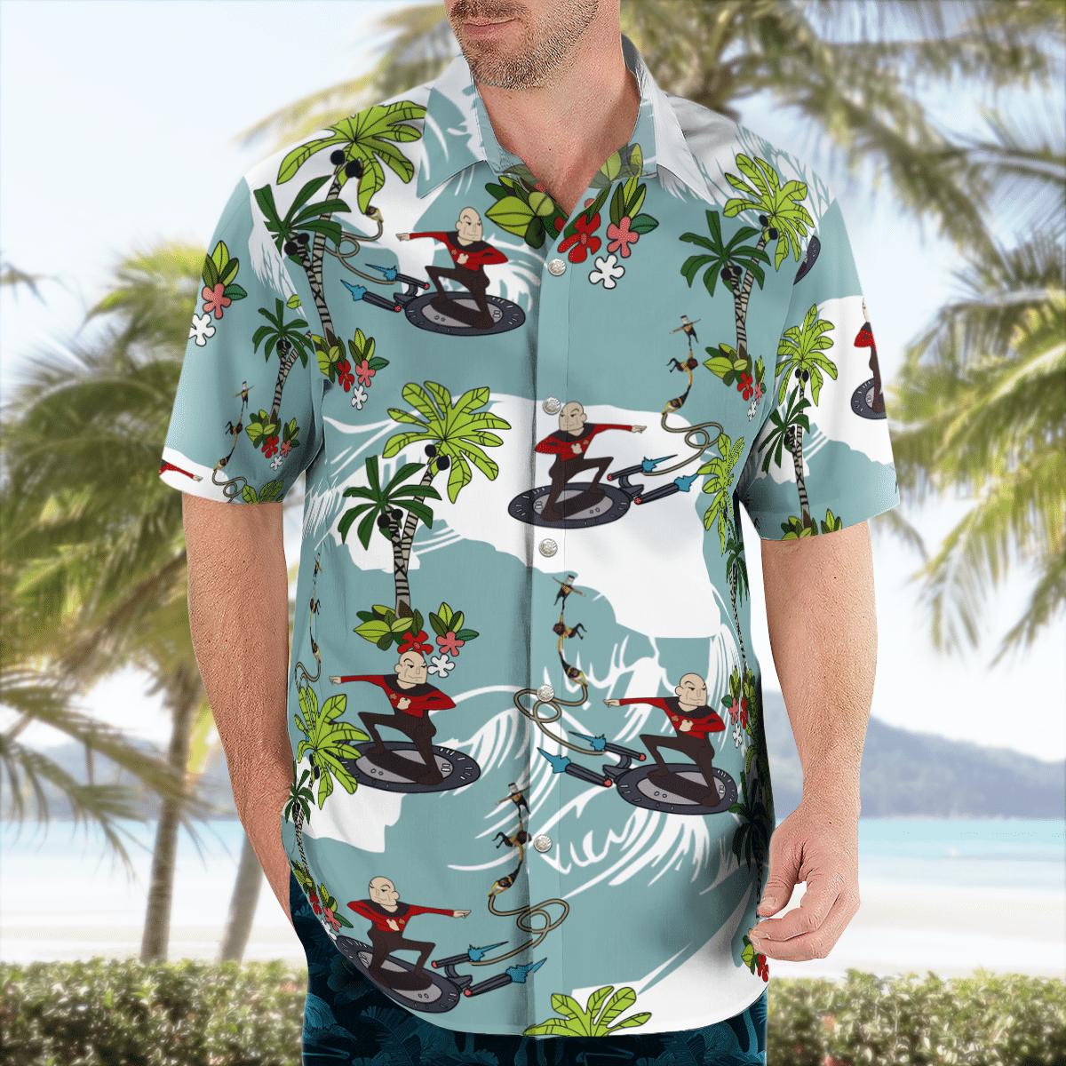 Star Trek Surfing Hawaiian shirt - LIMITED EDITION