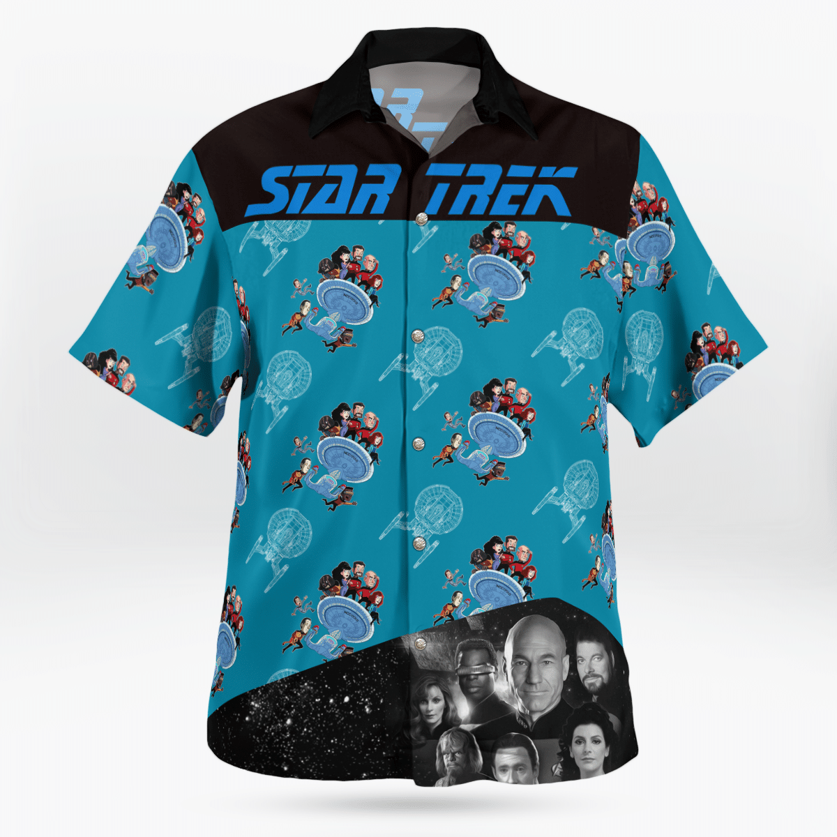 Star Trek The next generation Hawaiian shirt - LIMITED EDITION