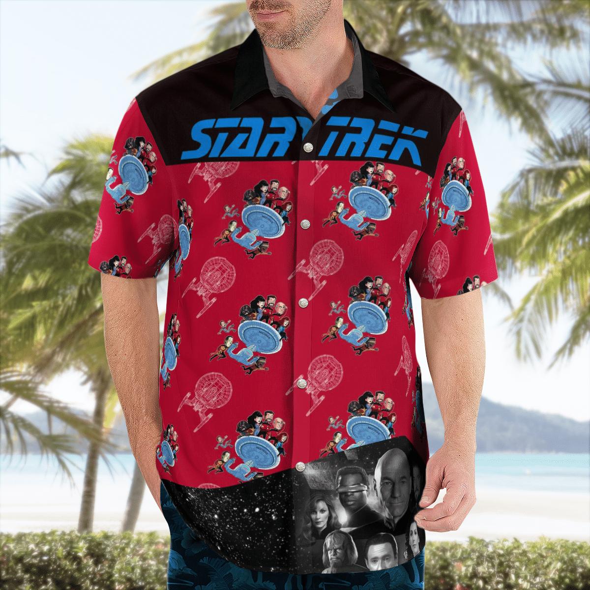 Star Trek command hawaiian shirt - LIMITED EDITION