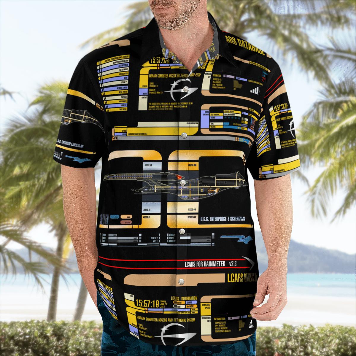 Star Trek control panel Hawaiian shirt - LIMITED EDITION