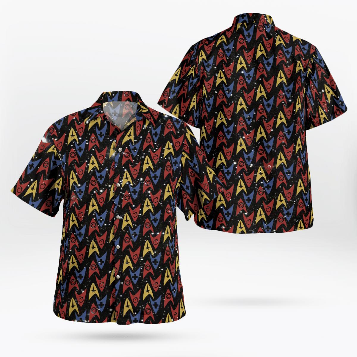 Star Trek logo Hawaiian shirt - LIMITED EDITION