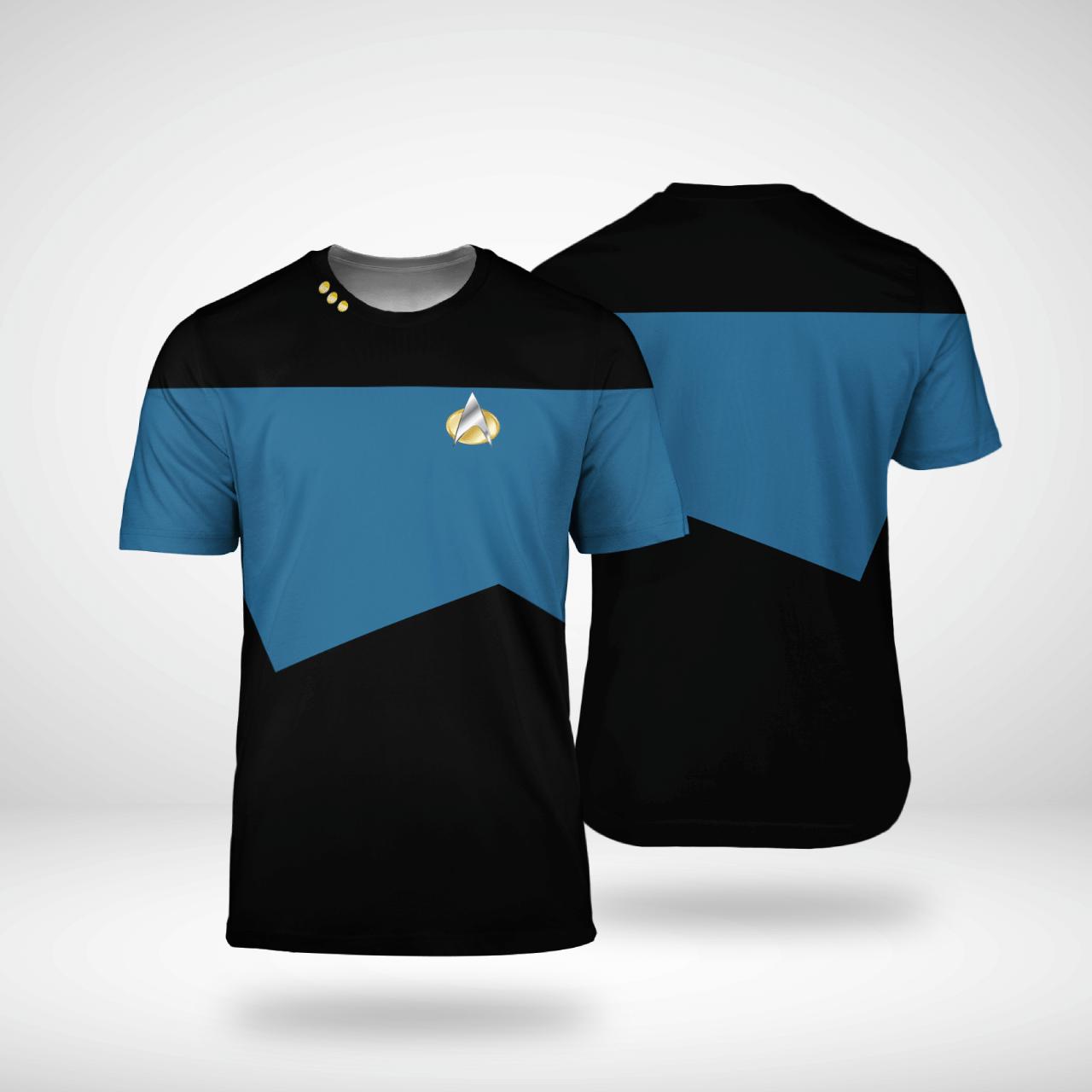 Star Trek science 3d shirt - LIMITED EDITION