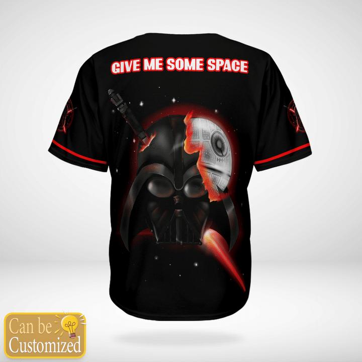 Star Wars Darth Vader Custom Name Baseball Jersey Shirt - LIMITED EDITION