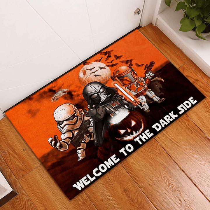[HOT TREND] Star Wars Darth Vader Stormtrooper Boba Fett Halloween Doormat - Hothot 100921