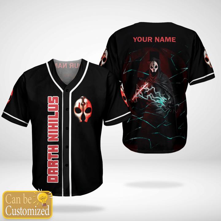 Star Wars Nihilus Custom Name Baseball Jersey Shirt - LIMITED EDITION