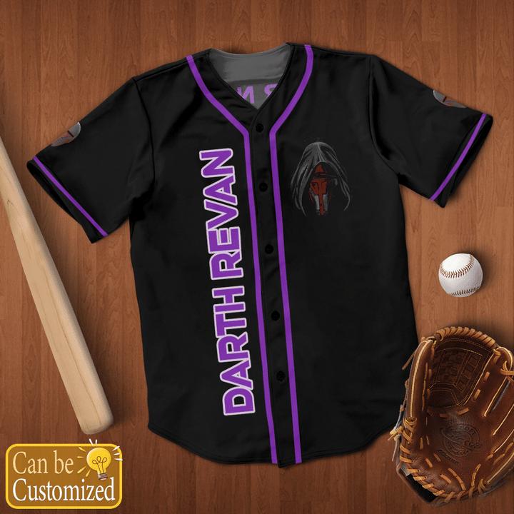 Star Wars Revan Custom Name Baseball Jersey Shirt - LIMITED EDITION