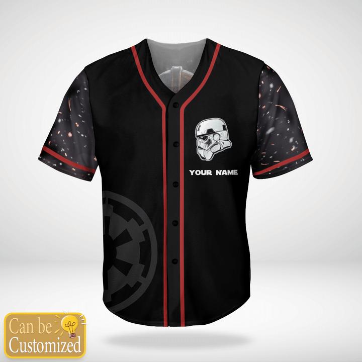Star Wars Stormtrooper Custom Name Baseball Jersey Shirt - LIMITED EDITION