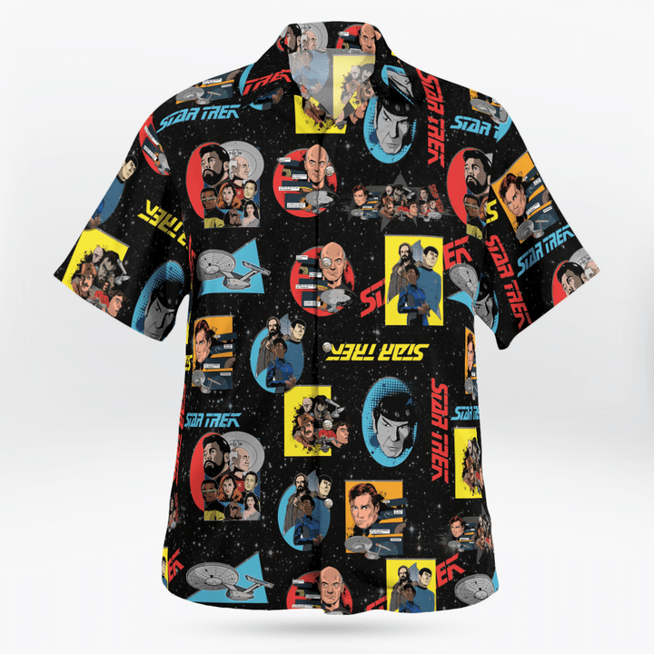 Star trek hawaiian shirt - LIMITED EDITION