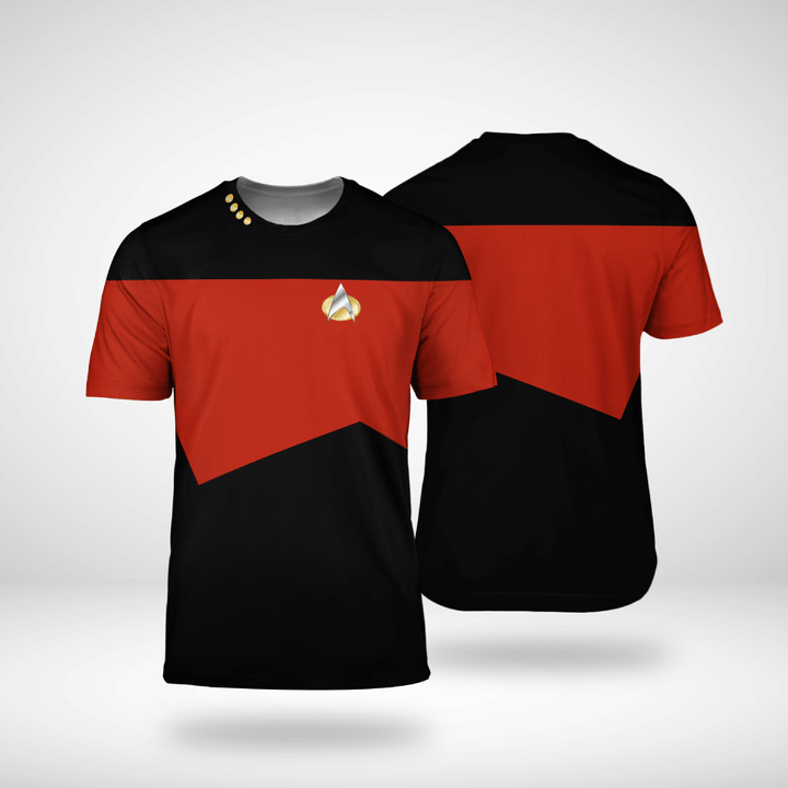 Star trek tng captain shirt