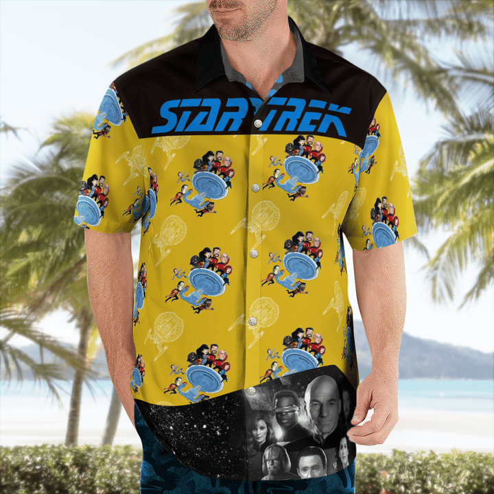 Star trek tng operation hawaiian shirt - LIMITED EDITION