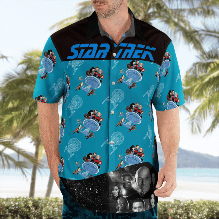 Star trek tng science hawaiian shirt - LIMITED EDITION