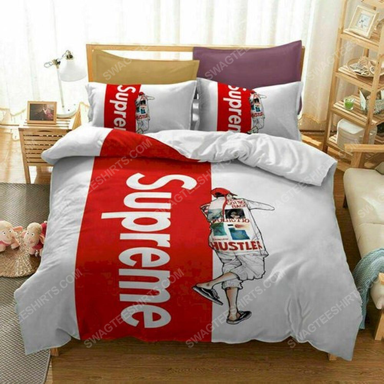 Supreme symbols full print duvet cover bedding set 1