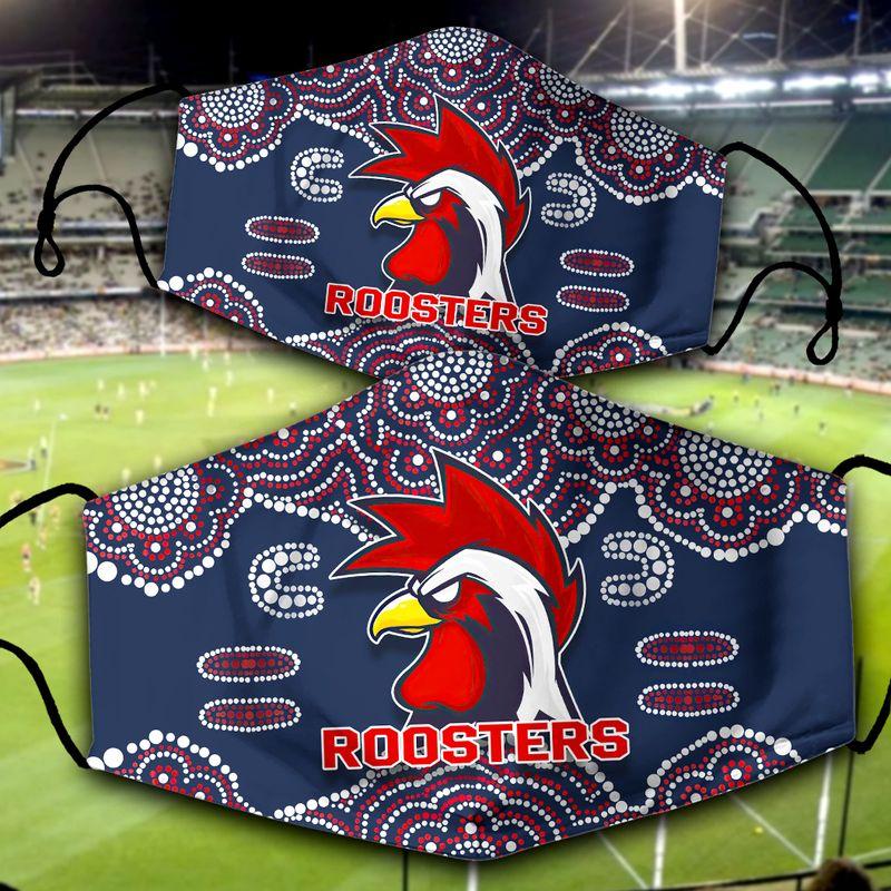 Sydney Roosters NRL face mask