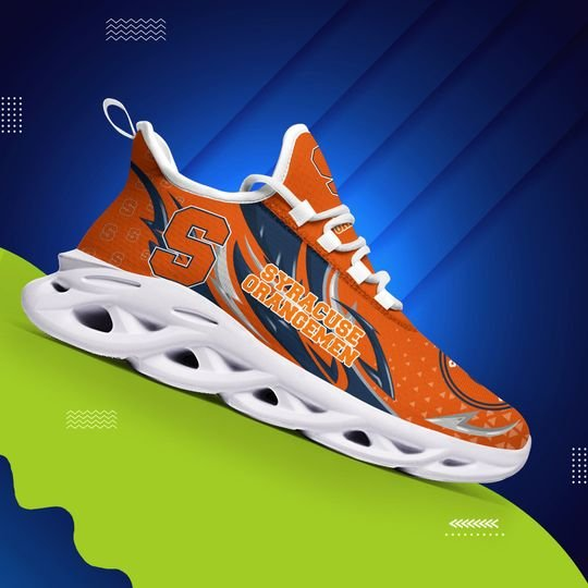 Syracuse Orange clunky max soul shoes - LIMITED EDITION